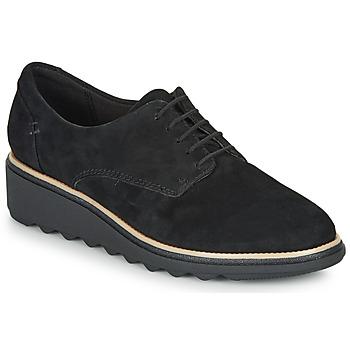 Pantofi Femei Pantofi Derby Clarks SHARON NOEL Negru