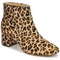Pantofi Femei Botine Clarks SHEER FLORA Leopard