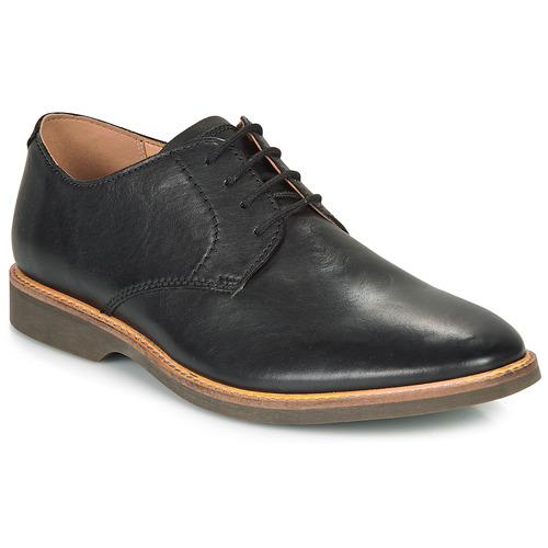 Pantofi Bărbați Pantofi Derby Clarks ATTICUS LACE Negru