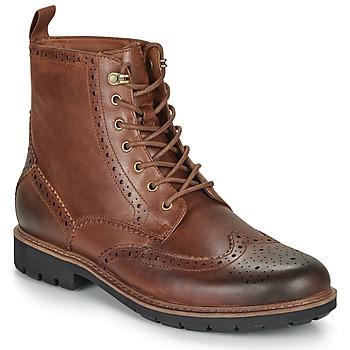 Pantofi Bărbați Ghete Clarks BATCOMBE LORD Camel