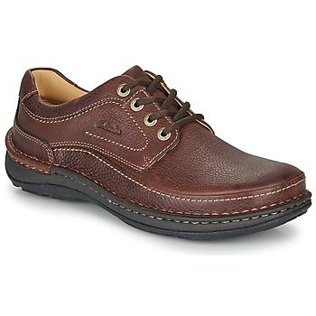 Pantofi Bărbați Pantofi Derby Clarks NATURE THREE Maro