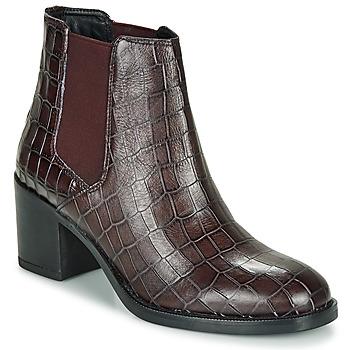 Pantofi Femei Botine Clarks MASCARPONE Bordo