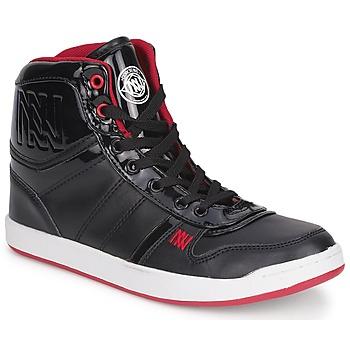 Încăltăminte Femei Pantofi sport stil gheata Dorotennis BASKET CUIR NAPPA PU VERN Negru