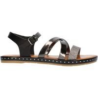 Pantofi Femei Sandale  Cala Molina M751D Gunmetal
