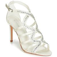 Pantofi Femei Sandale și Sandale cu talpă  joasă Menbur MAFAT Alb fildeș