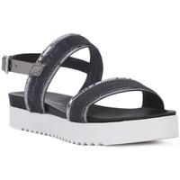 Pantofi Femei Sandale  Sono Italiana PAILL CF Grigio