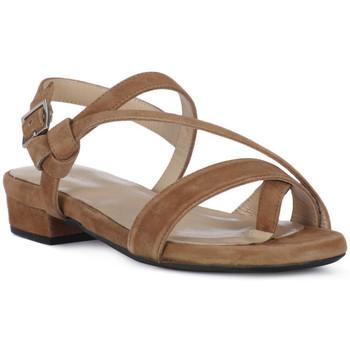 Pantofi Femei Sandale  Frau CAMOSCIO NERO Nero