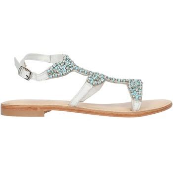 Pantofi Femei Sandale  Cristin CATRIN9 White and blue