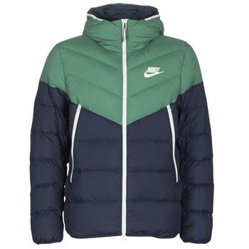 Îmbracaminte Bărbați Geci Nike M NSW DWN FILL WR JKT HD Bleumarin / Verde