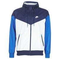 Îmbracaminte Bărbați Jacheta de vânt Nike M NSW HE WR JKT HD Albastru / Alb