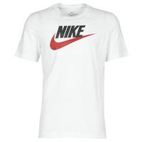Îmbracaminte Bărbați Tricouri mânecă scurtă Nike M NSW TEE ICON FUTURA Alb