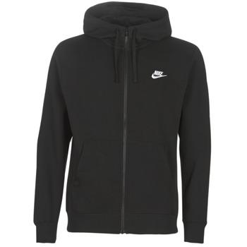 Îmbracaminte Bărbați Hanorace  Nike M NSW CLUB HOODIE FZ BB Negru