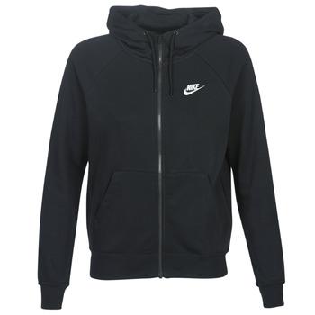 Îmbracaminte Femei Hanorace  Nike W NSW ESSNTL HOODIE FZ FLC Negru