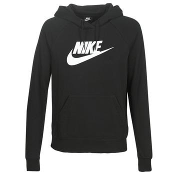 Îmbracaminte Femei Hanorace  Nike W NSW ESSNTL HOODIE PO  HBR Negru
