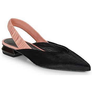 Pantofi Femei Balerin și Balerini cu curea Heimstone SWEDES Negru / Roz