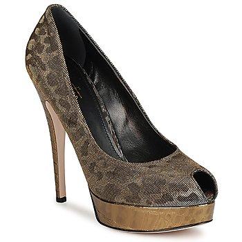 Pantofi Femei Pantofi cu toc Sebastian TESS Gri / Auriu