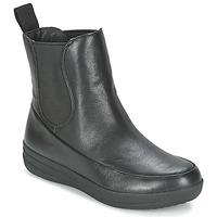Pantofi Femei Ghete FitFlop FF-LUX CHELSEA BOOT Negru