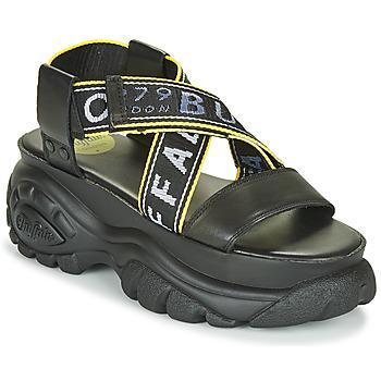 Pantofi Femei Sandale și Sandale cu talpă  joasă Buffalo 1501024 Negru