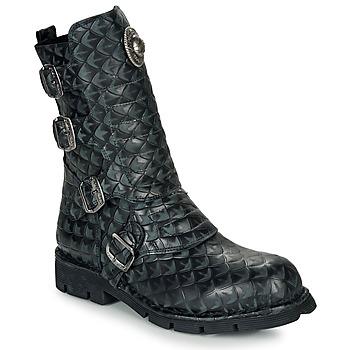 Pantofi Ghete New Rock  Negru