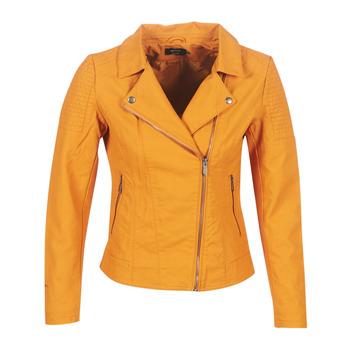 Îmbracaminte Femei Jachete din piele și material sintetic Only ONLMEGAN Galben