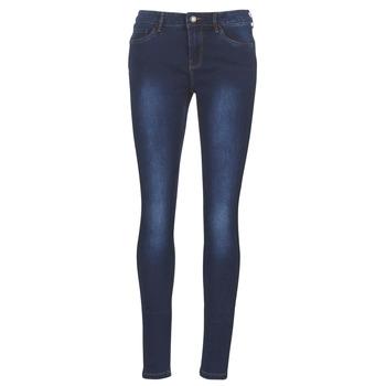 Îmbracaminte Femei Jeans slim Vero Moda VMSEVEN Albastru / Culoare închisă