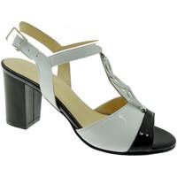 Pantofi Femei Sandale  Soffice Sogno SOSO8133bi bianco