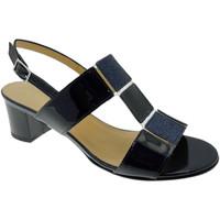 Pantofi Femei Sandale  Soffice Sogno SOSO9420bl blu