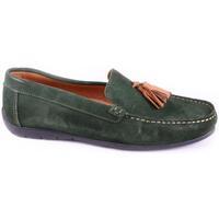 Pantofi Bărbați Mocasini Keelan 58846 GREEN