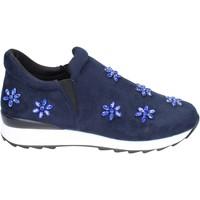 Pantofi Fete Pantofi Slip on Holalà BR386 Albastru