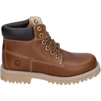 Pantofi Băieți Ghete Melania BR388 Maro