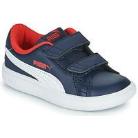 Pantofi Băieți Pantofi sport Casual Puma SMASH Bleumarin