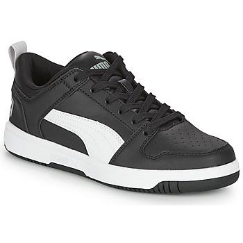 Pantofi Băieți Pantofi sport Casual Puma REBOUND LAYUP N Negru