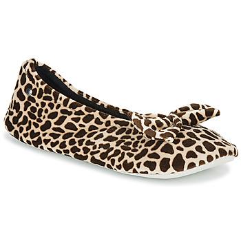 Pantofi Femei Papuci de casă Isotoner 95991 Maro