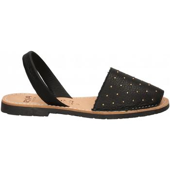 Pantofi Femei Sandale  Ria VELVET BLANCO negro