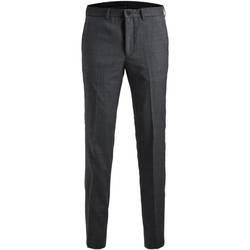 Îmbracaminte Bărbați Pantaloni de costum Jack & Jones 12141112 JPRSOLARIS TROUSER NOOS DARK GREY Gris