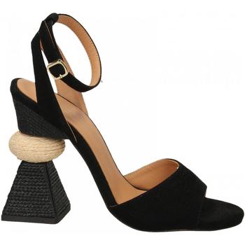 Pantofi Femei Sandale  Paloma Barcelò KID SUEDE blk-nero