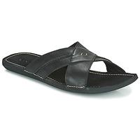Pantofi Bărbați Papuci de vară Kickers SPOCK Negru