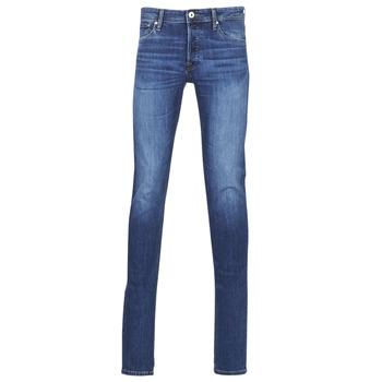 Îmbracaminte Bărbați Jeans slim Jack & Jones JJIGLENN Albastru / Culoare închisă