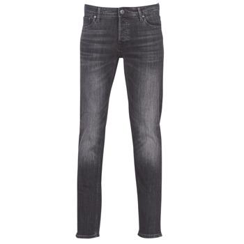 Îmbracaminte Bărbați Jeans slim Jack & Jones JJIGLENN Negru