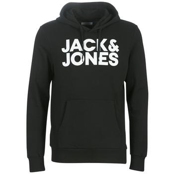 Îmbracaminte Bărbați Hanorace  Jack & Jones JJECORP LOGO Negru