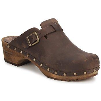 Pantofi Femei Saboti Sanita KRISTEL OPEN Maro