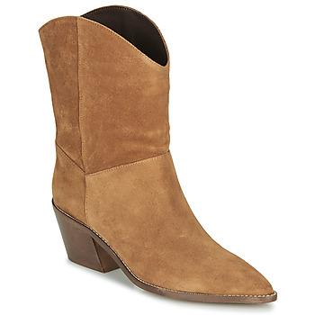 Pantofi Femei Botine André MINNESOTA Camel