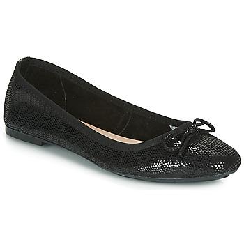 Pantofi Femei Balerin și Balerini cu curea André PIETRA Negru