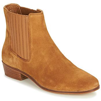 Pantofi Femei Ghete André ECUME Camel