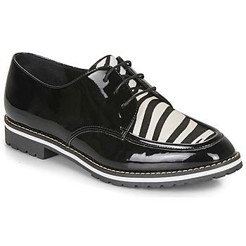 Pantofi Femei Pantofi Derby André CHARLELIE Negru / Imprimeu