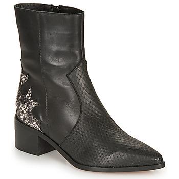 Pantofi Femei Botine André LA ROCKABILLY Negru