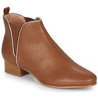 Pantofi Femei Ghete André VERVEINE Camel