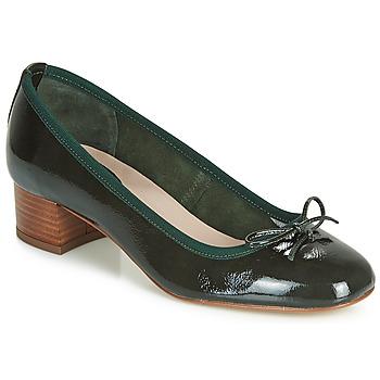 Pantofi Femei Balerin și Balerini cu curea André POEME Verde
