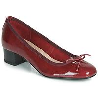 Pantofi Femei Balerin și Balerini cu curea André POEME Roșu