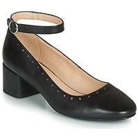 Pantofi Femei Balerin și Balerini cu curea André LAUREATE Negru